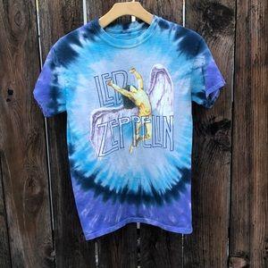 Led Zeppelin Swan Song Tie Dye Shirt.💙